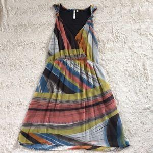 Petticoat Alley, Modcloth, retro pattern dress, S